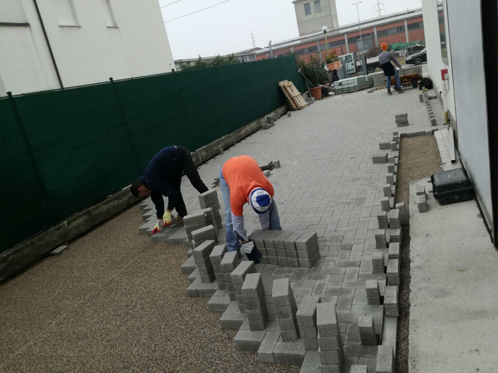 TBR Costruzioni Generali pavimentazioni autobloccanti